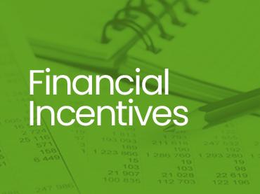 financial incentives thumb